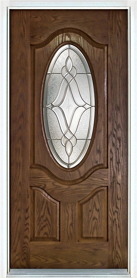 34 Oval Light Entry Door Masterpiece Patio Entry Doors